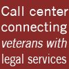 Call center starts operations to connect veterans, active military with legal services