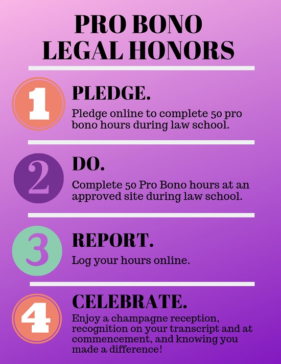 Pro Bono Legal Honors 4 Step